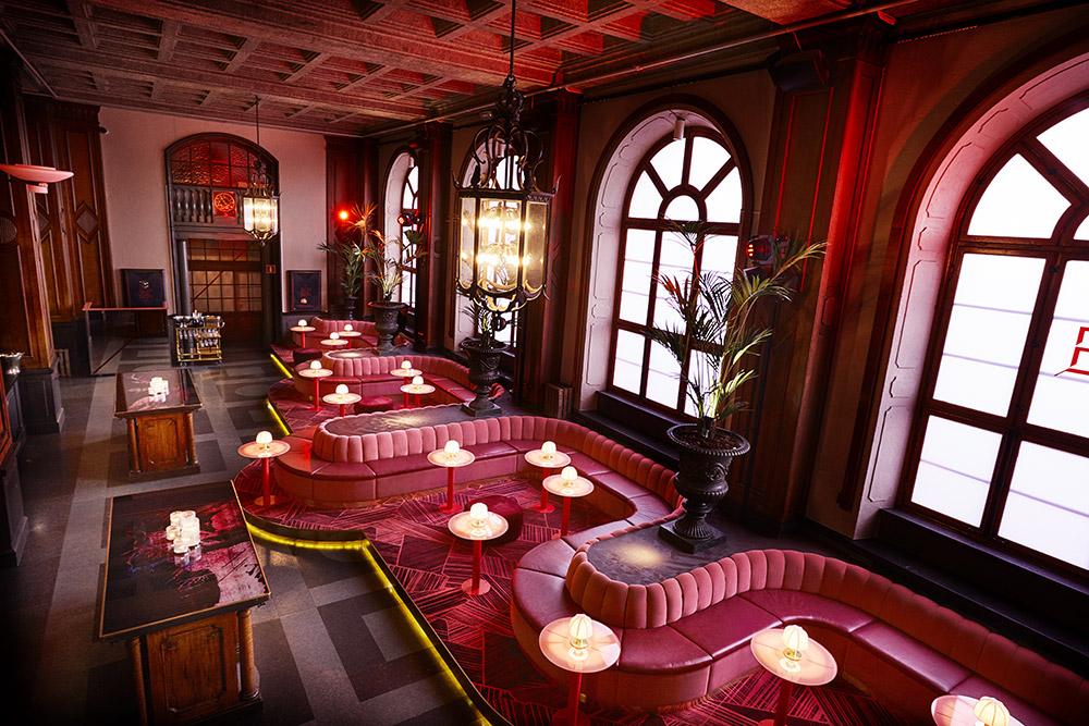Bon Bon Bar on Nightclub Interior Design